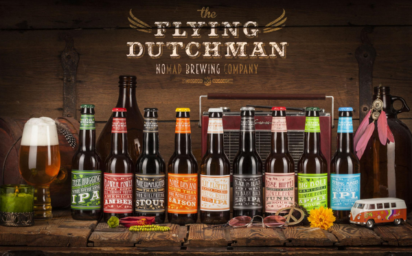 Bieren van The Flying Dutchman Nomad Brewing Company