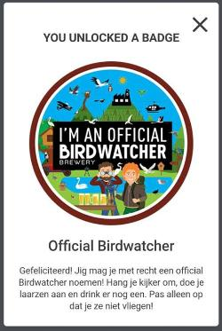 Bird Brewery Badge