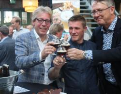 Cees-Jan Adema, Roy Pickkers en Derek Walsh