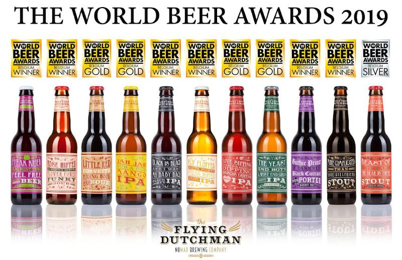 Flying Dutchman succes tijdens World Beer Awards 2019