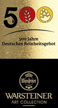 Warsteiner Art Collection 500 jaar Reinheitsgebot