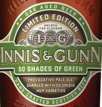 Innis and Gunn fifty shades of green