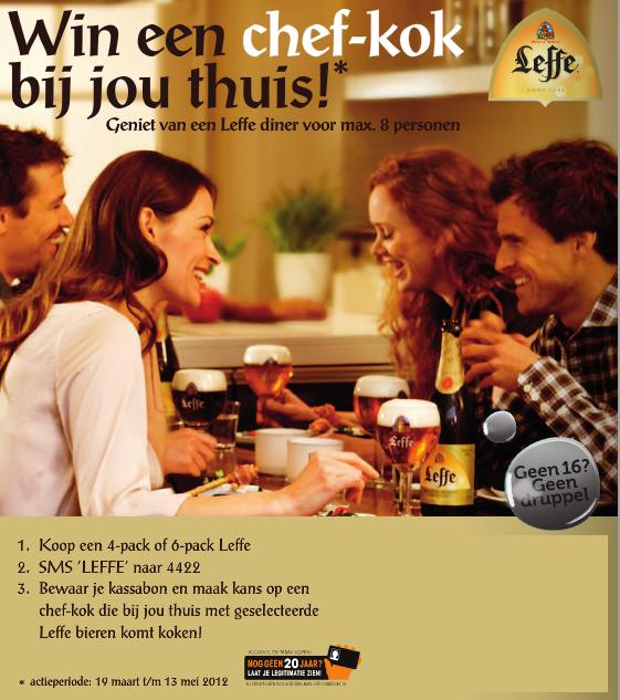 Win Een Chef Kok Van Leffe Bij De Hoogvliet Biernetnl