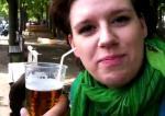 bier rietje oor