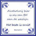 Tegeltjeswijsheid: alcoholvrij bier