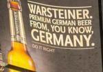 Warsteiner billboard becks