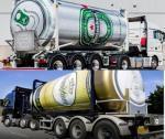 Warsteiner en Heineken bierwagen