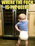 Waar is het bier?