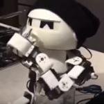 Alcohol drinkende robot