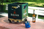 Rijdende bierkrat