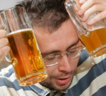 Verkoelend bier tijdens kater