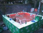 Bier zwembad