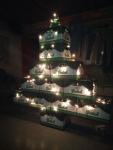De kerstboom staat al!