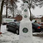 Heineken Extra Cold gewoon op straat!