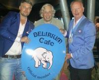 Biercafé Délirium nu ook in Amsterdam