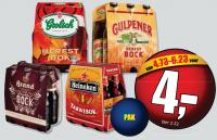 Herfstbock bier in de aanbieding