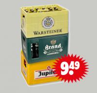 krat warsteiner, jupiler en brand voor €9,49
