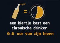 Twee biertjes per dag verkort je leven met 23 jaar!