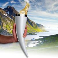 viking horn bier glas
