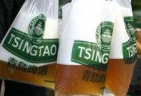Bier in plastic zakken