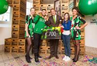Heineken Experience verwelkomt 700.000ste bezoeker
