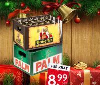 Bier in de aanbieding voor kerst