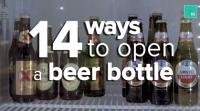 14 slimme manieren om je biertje te openen
