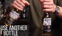 Corona bottles bier openen