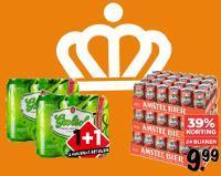 Blikjes bier aanbieding Koningsdag