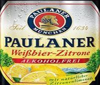 Nieuw merk op Biernet:  Paulaner Weissbier zitrone 0 procent