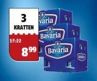 3 kratjes Bavaria aanbieding