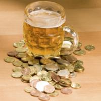bier met geld