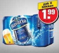 Bavaria Sixpack aanbieding bij Hoogvliet