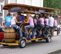 Bierfiets in Amsterdam