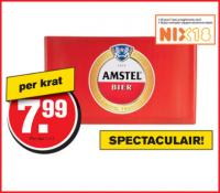 Amstel in de aanbieding