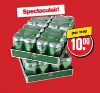 Tray Heineken in de aanbieding