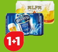 Bavaria en Alfa in de aanbieding