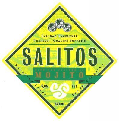 Salitos Mojito etiket
