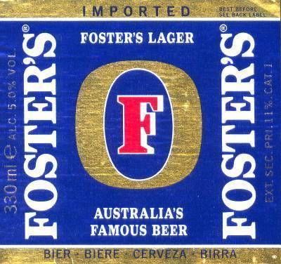 Fosters etiket