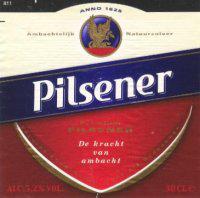 Albert Heijn pilsener logo