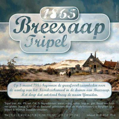 1865 Breesaap Tripel