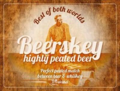 Beerskey - Gebrouwen met geturfde whisky mout