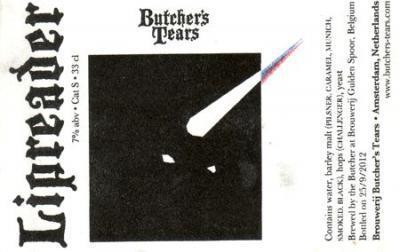 Butcher' Tears Lipreader - Sterk bier voor donkere seizoenen
