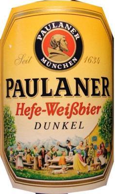 Paulaner Weisse Dunkel - Heerlijk zomers bier