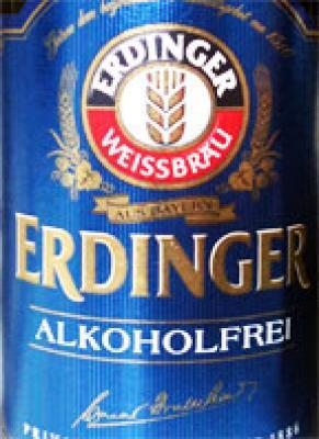 Erdinger Alkoholfrei - Fris bier zonder alcohol
