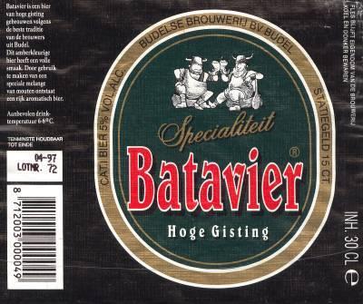 Budels Batavier - Volgens familie traditie gebrouwen
