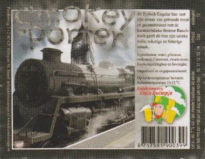 Smokey Porter - Typisch Engels bier