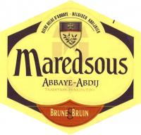 Maredsous Bruin Logo