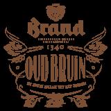 Brand Oud bruin