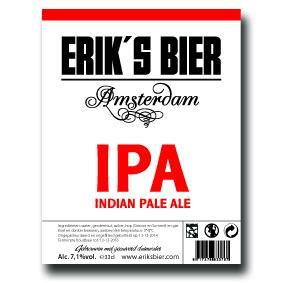Eriks IPA Indian Pale Ale